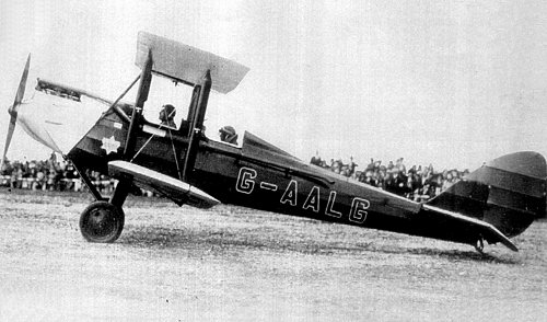 The first aircraft owned by the Prince of Wales, later King Edward VIII was G-AALG, a de Havilland dH.60 Moth.