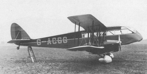 The Prince of Wales' de Havilland dH.84 Dragon was used to fly into Denham to allow the Prince to play Denham Golf Course.